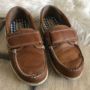 Boys Brown Loafers Dress Shoes